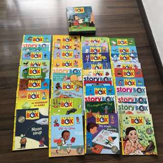 Like NEW the Story BOX more than a book 29+7 educational books