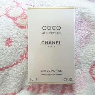 真品全新 減價全場最平 Chanel Coco Mademoiselle Parfum香水  未開封  非Tiffany Cartier