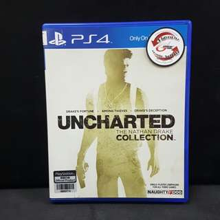PS4 Uncharted The Nathan Drake Collection (Used Game)