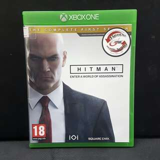 XBOX ONE Hitman The Compete First Season (Used Game)