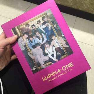 Wanna One W1 Nothing Without You Album x2