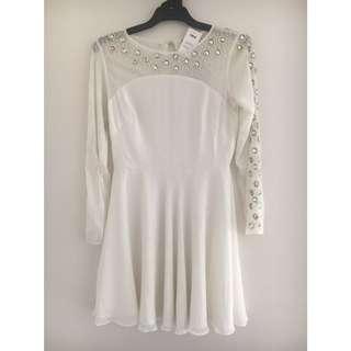 ASOS white dress size 12