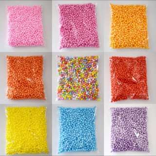 1400 FOAM BEADS  (it can last you a lifetime maybe?)