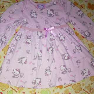 💯Authentic HELLO KITTY DRESS