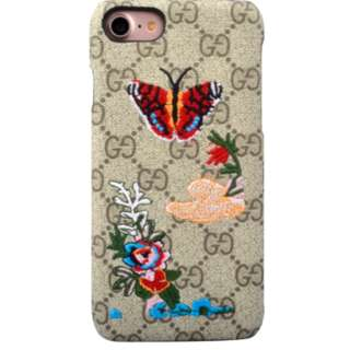 Gucci Butterfly Embroidered IPhone  Casing [PO]