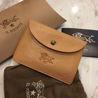 Il Bisonte Leather Pouch