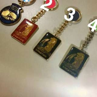 Anti-rust Gold Keychains
