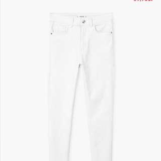 New Mango White Jeans Size 8