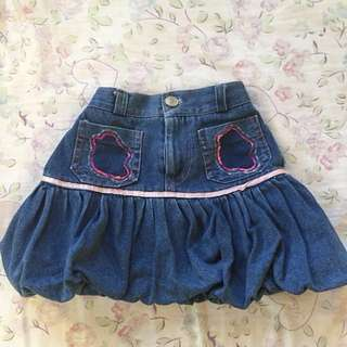 Denim skirt (2y/o)