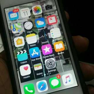 Iphone 5s white gold 16gb