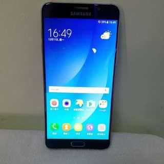 "samsung NOte 5  32G blue 5.7"" 藍色,直屏,單卡,98%new,冇崩損,7日壞機包換,跟埋配件,〈冇盒〉"