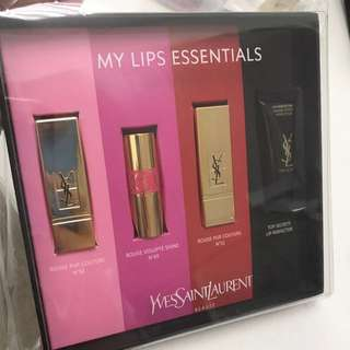Ysl mini lipstick 限量迷你唇膏套裝