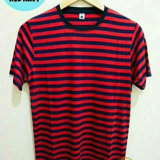 Stripes Tees Ready size S,M,L