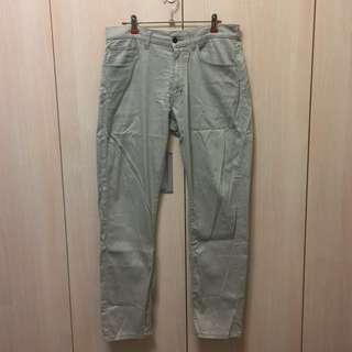 Uniqlo 合身彈性褲 30 (76cm)卡其 $100