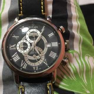 Titan chronograph sport watch