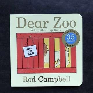 💥 NEW - Best Selling - Dear Zoo - Sturdy Board Book - Children Story Book #1212YES
