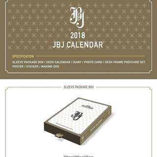 [PREORDER] JBJ 2018 SEASONS GREETINGS
