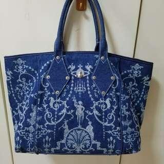 Vivienne westwood 大側揹咩袋 shoulder bag shopping tote
