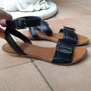 Regatta buckle flat sandals