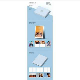 [PREORDER] MONSTA X 2018 SEASONS GREETINGS