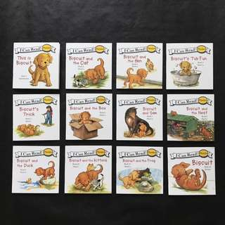 💥[NEW] I Can Read Phonics - Biscuit- 12 books set #1212YES