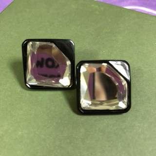 韓國N字牌耳環