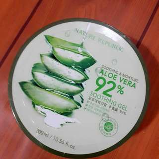 NATURE REPUBLIC  Shooting & Moisture Aloe Vera . NEW stuff. Guarantee ORI from KOREA