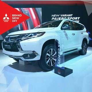 Pajero Sport Dakar Ultimate...Discount 20 juta + paket free service dan sparepart