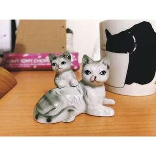 可愛貓咪擺飾 陶瓷
