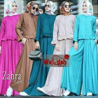 Zahra set  Fabric