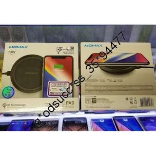 Momax Q.Pad Fast Wireless Charger 快充無線充電器 支援 iPhone X、s8、Note 8系列等