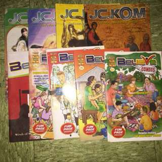 JC.Kom and Believe Magazine/ Comics all this magazine for 70 pesos only