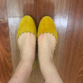 Yellow sudue flats