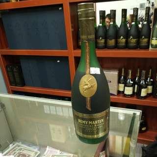 n163 80年代人頭馬帝王 磨砂瓶 remy martin centaure royal