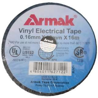 """ARMAK electrical tape 3/4"""" (0.16mm x 19mm x 16 meters)"""