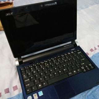 ACER ASPIRE ONE RUSH SALE 5000 PESOS ONLY STILL NEGOTIABLE