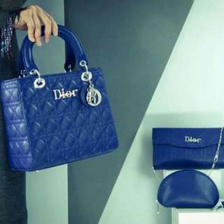 3 in 1 Lady DIOR Handbag (FREE POSTAGE)