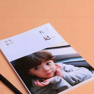 Customise photo notebook soft cover