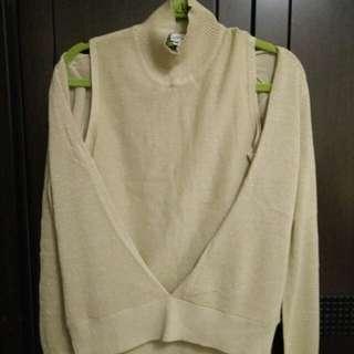 金蔥針織高領衣