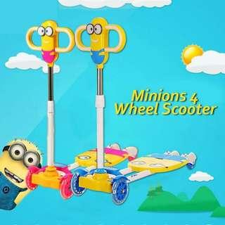 Minion 4 Wheels Scooter