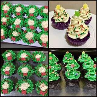 FS: Christmas Cupcakes
