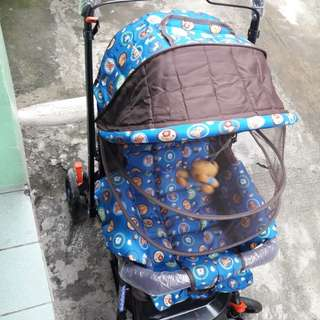 apruva stroller used twice
