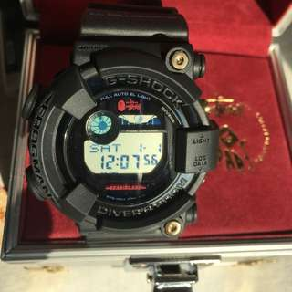 Casio G-shock Frogman BAPE Stussy collab GF-8250BS-1JR