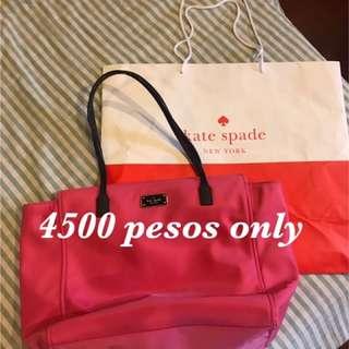 Pink Kate Spade Nylon bag