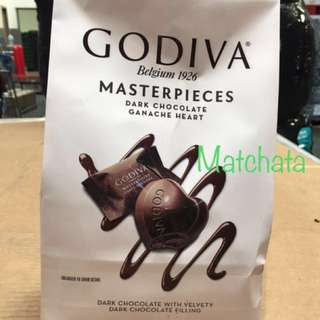 Godiva ❤️ Masterpieces 415g Dark Chocolate 心心朱古力