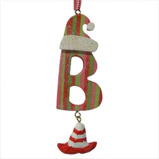 Christmas Initial B Ornament
