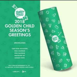 Loose Item Golden Child Season's Greeting