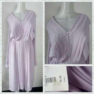 Lavender Vintage Dress