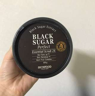 Skinfood black sugar scrub