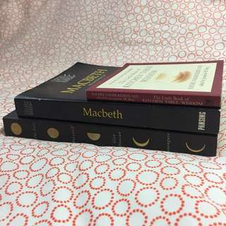 FREE books of different titles (includes a study edition of Macbeth)